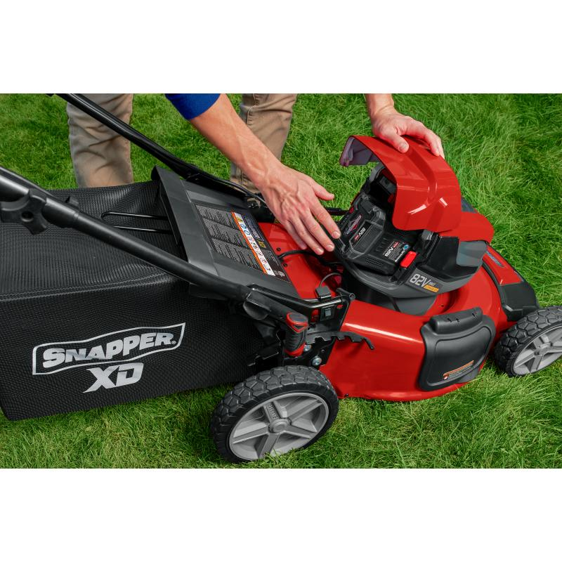 Snapper XD 82V Max* StepSense Automatic Drive Electric Lawn Mower