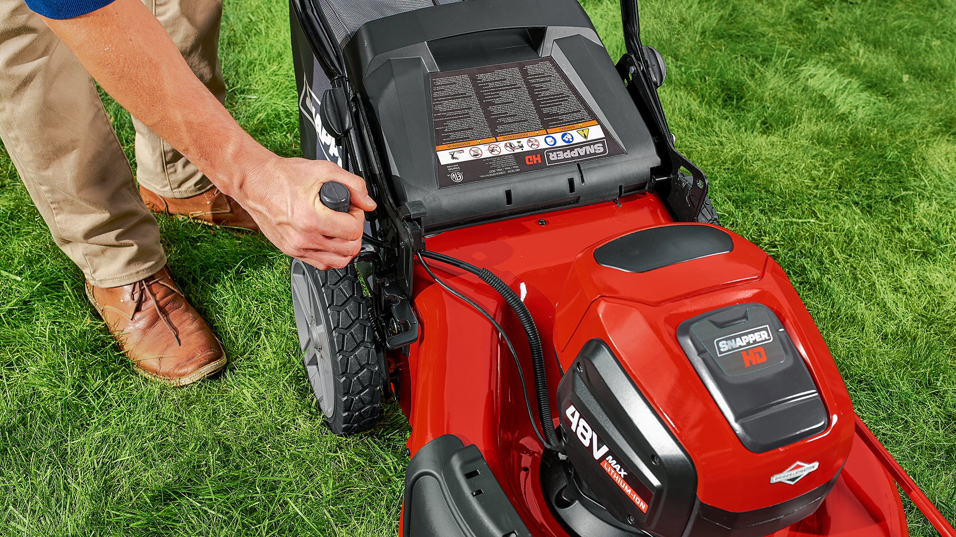 Snapper Hd 48v Max Electric Cordless Self Propelled Lawn