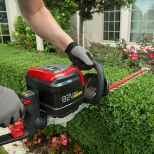 82Volt Max LithiumIon Cordless Hedge Trimmer