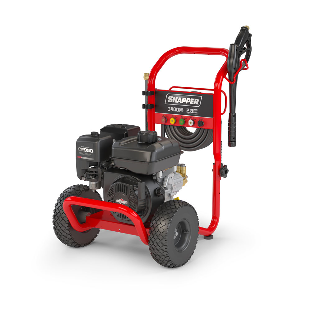 3400 MAX PSI  2.8 MAX GPM Gas Pressure Washer