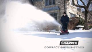 Snapper Compact Single Stage Snow Blower