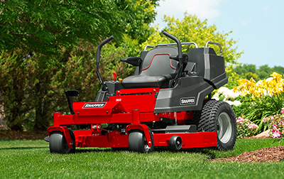 Snapper® Adds Ergonomic Features to SPX Tractor...