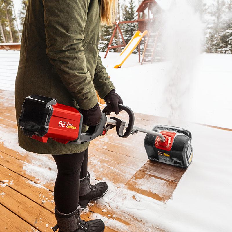 82 Volt Max Lithium Ion Cordless Snow Shovel