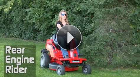 Watch the Rear Engine Riding Lawn Mower in Action