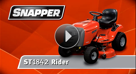 All-New Snapper ST Series Lawn Tractors