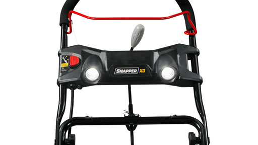 Snapper snow blower dual lights