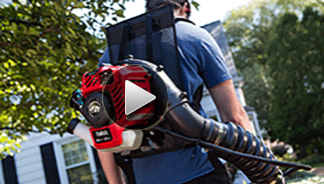 Backpack Gas Leaf Blower