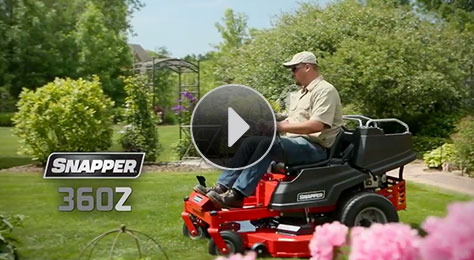All-New 360Z Zero Turn Riding Mower