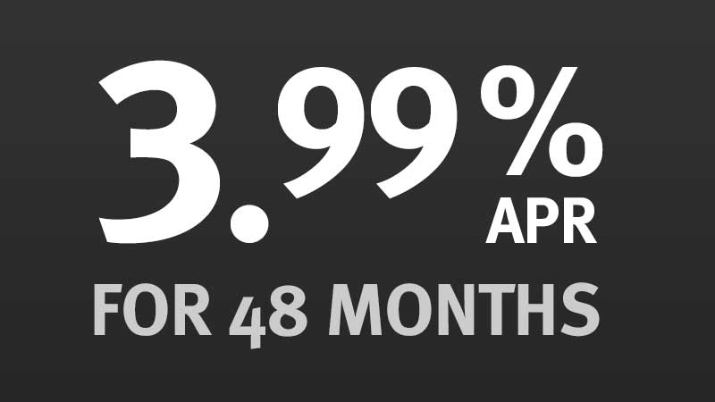 3.99% APR for 48 Months