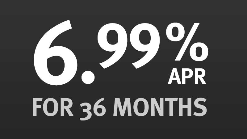 6.99% for 36 Months