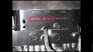 Where Is My Lawn Mower Engine Model Number | ...
